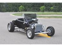 This 1925 Ford Model T Roadster Harley Davidson Tribute
