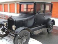 This car is unrestored. A survivor, complete, original,