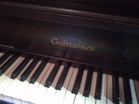 This great upright piano is in good shape. Does need to