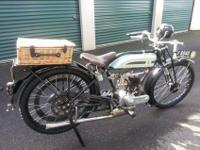 1925 Triumph Model P RARE 498 CC Racing Bike.Bike Runs