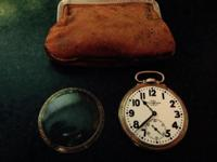 1926 Rare - 23 Jewel 6 position pocket watch This ad