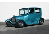 Stunning '26 Ford Model T Tudor Sedan finished in Teal