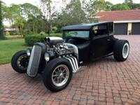 1926 Ford Model T Coupe Hot Rod - real, original steel