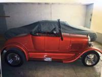 1926 Ford T Roadster (OK) - $25,000 2 door Orange with