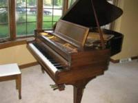 BALDWIN 1927 BABY GRAND PIANO REAL NICE CONDITION. THIS