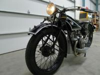 1927 BMW 500 CC R-42The R-42 was restored in 2004-2005