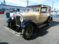 Year: 1927 Make: Essex Model: Super Six Exterior Color: