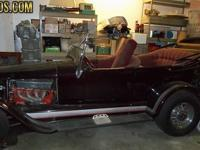 1927 FORD MODEL T, 37, 653 MILES ,CAR BUILT AROUND