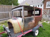 Body in very good solid condition. Minor rust repair