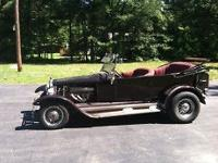 Year: 1927 Make: Ford Model: Phaeton (Model T) Engine:
