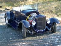 1927 Ford Roadster BBC 396 w/ Turbo 400. Powder coated