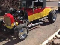 1927 Ford Roadster for sale (CO) - $29,000. Red and
