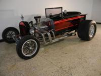 1923 Ford T Bucket. 312 ci 300hp Chevy V8 engine,