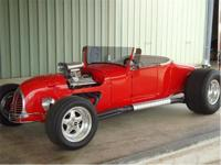 This Beautiful 1927 Track T Roadster is presented with
