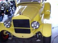 This is a 1927 Model T Roadster. The body is 1927 and