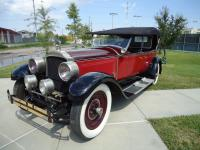 1927 Packard 336 5 Passenger Touring Red Black