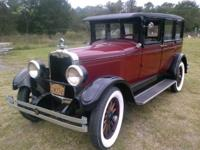 1927 Sedan. Model Six-90. Collins Straight 6 Engine.