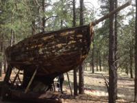 "1927 Wooden Sea Bird Sailboat. 26 ft. long. ""Yama"""