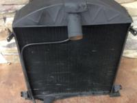 USED CLEAN INSIDE AND OUT HD 8 FINS PER INCH RADIATOR