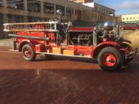 1928 Ahrens Fox Fire Truck ..Considered the Rolls Royce