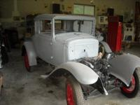 1928 Model A Pickup. Motor runs, excellent metal, new