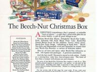 Beech-Nut Ad that my grandmother received in the mail.