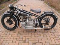 For sale this beautiful BMW R 52 year 1928, original