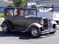 This is a classic hot rod 1928 Chevrolet Series AB