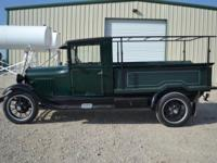 1928 Ford AA Truck, runs and drives, looks good, good
