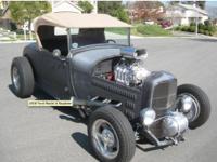 1928 Ford hi-boy roadster, Brookville body, 350/350