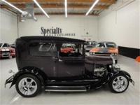 This beautifully built, steele body Model A is a