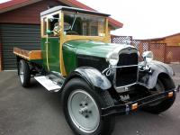 1928 Ford Model A Original Truck. Polished native