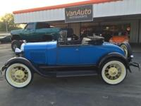 1928 FORD MODEL A ROADSTER Welcome to VanAuto
