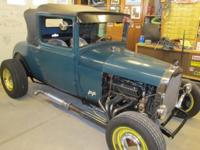 1928 FORD Sport Coupe HOT ROD For Sale in Albuquerque,