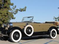 This 1928 Lincoln Sport Touring  is a great car, in