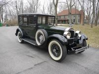 This is a top of the line 1928 Packard 443 Limousine