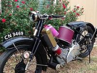 This 1928 Scott flying Super Squirrel three speed is a
