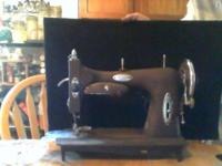 Sewing machine in excellent condition. electric can go
