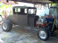 THE 1928 PROJECT COUPE IS REEL NICE CAR TO INVEST IN.I