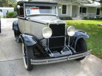 1929 Chevy Cabriolet for sale (FL) - $16,800. Once a