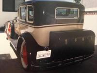This 1929 Dodge Senior is Featured on the front cover