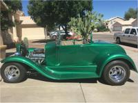 Year: 1929 Make: Ford Model: Hot Rod Exterior Color: