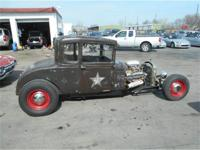 1929 FORD MODEL A ALL METAL RATROD!! THIS CAR RUNS AND