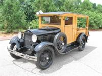 Just in is this beautiful 1929 Model a Huckster done in