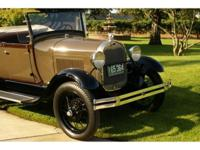 Here is a sharp 1929 Ford Model A Rumble Seat Roadster