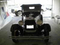 1929 Model A This Model A was purchased from a
