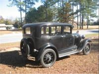 1929 Model Ford in good condition. Second owner. Motor,