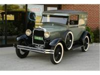Here we have a beautiful 1929 Ford Model A Sedan