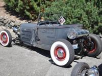 1929 Model A lakes modified roadster, 350 Chev ,Turbo