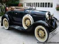 Make:  Ford Model:  Model A Year: